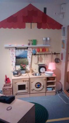 Unsere Küche im Rollenspiel Bereich