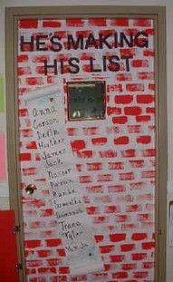 christmas classroom door - Bing Images