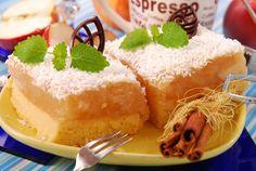 "Prăjitura ""Dalia"" - Retete culinare - Romanesti si din Bucataria internationala Cannoli, Sliders, Vanilla Cake, Caramel, Pudding, Desserts, Recipes, Food, Mai"