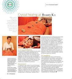"Crystal healing at ""Beauty K's"" Beauty News, Life Magazine, New Life, Crystal Healing, Crystals, Health, Health Care, Crystal, Crystals Minerals"