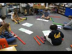 ▶ Northgate Boomwhacker Symphony -- Star Wars Medley - YouTube >>> Playing technique is cool! Middle years.