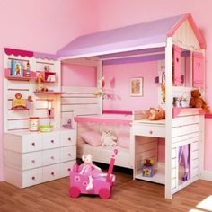 40 Safe and Adorable Bedroom Ideas for Toddler Girls 31