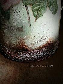 Inspiracje z duszą DecoupageArt: Dzbanek czy konewka? Serving Bowls, Decoupage, Tableware, Teapot, Dinnerware, Tablewares, Dishes, Place Settings, Mixing Bowls