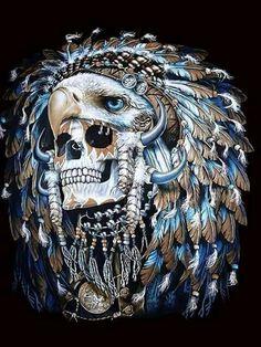 Skull and Eagle