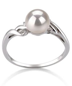 pearl wedding ring so much better than diamonds - Pearl Wedding Ring