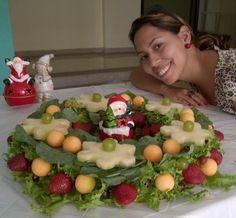 guirnalda ideal para decorar la mesa de tu cena de navidad