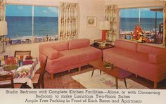Blue Mist Resort Motel - Miami Beach, Florida by The Pie Shops Collection, via Flickr