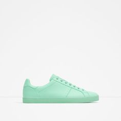 Image 1 of GREEN SNEAKERS from Zara