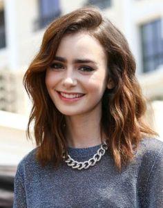 Die schönsten Haarschnitten mittellang in einer Reihe!