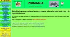 Actividades para mellorar a comprensión, a velocidade lectora e a habilidade visual ~ Orientación en Galicia