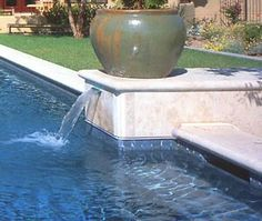 Waterline Pool Tile Ideas hand painted swimming pool liners Find This Pin And More On Pool Deck