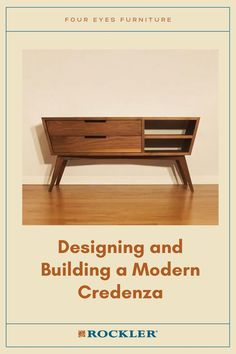 In this video, Chris Salomone builds his best piece to date, a Mid Century Modern-inspired Credenza. Watch the full build here! #CreateWithConfidence #FourEyesFurniture #MidCenturyModern #Credenza #Design Woodworking Plans, Woodworking Projects, Modern Credenza, Fishing Lures, Midcentury Modern, How To Plan, Building, Design, Fishing Jig