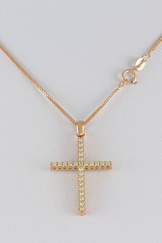 Βαπτιστικός σταυρός διπλής όψεως, σε ροζ χρυσό με λευκά και μαύρα ζιργκόν, 14 καράτια, κορίτσι, κωδικός GS278 Gold Necklace, Mary, Jewellery, Poster, Jewels, Jewelry Shop, Jewerly, Gold Necklaces, Posters