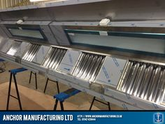 Kitchen Canopy Steel with LED