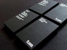 Foil stamped business card, foil blocking (7)