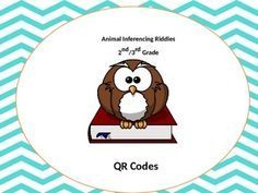 Owl Inferencing QR code activity (Common Core aligned) 2-4