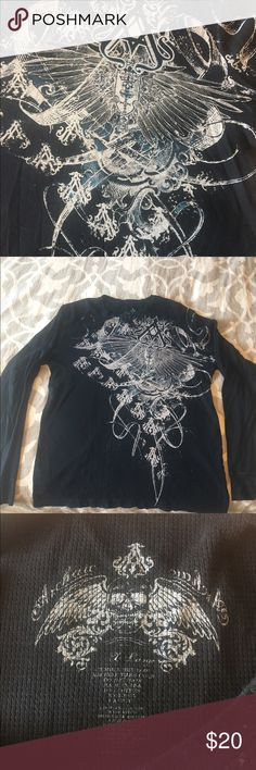 Men's Affliction Shirt Gently worn in great condition Affliction Shirts Tees - Long Sleeve
