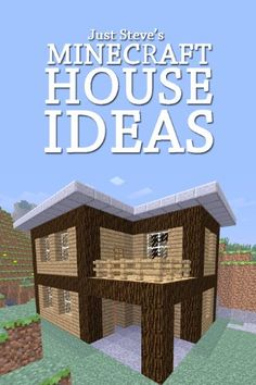 Minecraft House Ideas: A collection of blueprints for great house ideas in this Minecraft house guide. Part of a series. Learning objective: architecture