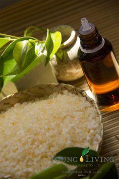 DIY Lemon Lavender Bath Salts
