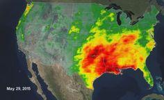NASA DataViz - A Tale of Two Extremes: Rainfall Across the US