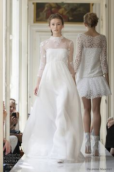 In love with beauty and traditions, Delphine Manivet designs romantic, modern and timeless bridal dresses. Discover her french bridal inspiration here. White Wedding Dresses, Bridal Dresses, Wedding Gowns, Flower Girl Dresses, Wedding Bride, Wedding Ceremonies, Wedding Beach, Wedding Bouquets, Delphine Manivet Wedding Dresses