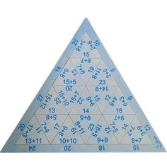 Quebra Cabeça Triangular Adição