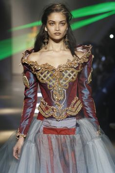 Vivienne Westwood -love the top, hate the skirt.