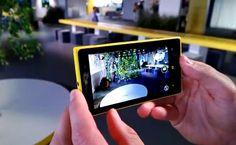 Primer acercamiento del Nokia Lumia 1020.