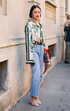 Tiffany Hsu Street style Milan Fashion Week