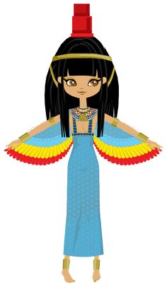 """Egyptian Goddess Het Heru (Hathor), the """"Mistress of the West"""" Hathor (ḥwt-ḥr, Egyptian for Horus's enclosure), is an Ancient Egyptian goddess who personified the principles of love, be. Goddess Isis Tattoo, Isis Goddess, Egyptian Goddess, Egyptian Art, Ancient Egypt For Kids, Historical Art, Gods And Goddesses, Whimsical Art, Paper Dolls"""