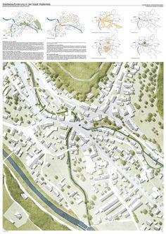 3. Preis: Konzept: Ortsmitte Wallenfels