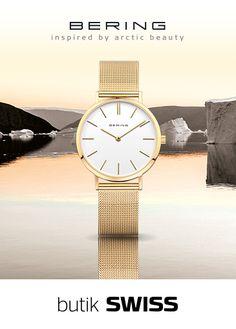 Zegarki Bering to elegancka prostota duńskiego wzornictwa inspirowana czystym i chłodnym pięknem Arktyki. Nie można przejść obok nich obojętnie. Zapraszamy do butiku SWISS Aleja Bielany