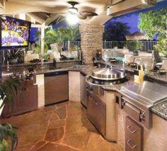 I think this is my out outdoor kitchen/cookout area!!