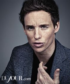 "Actor Eddie Redmayne spoke to DuJour Magazine about his struggles playing Stephen Hawking in his newest movie ""The Theory of Everything."""