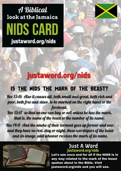 A Biblical Look at the Mark of the beast - Is NIDS the Mark