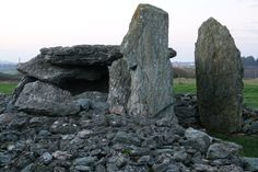 Trefignath Burial Chamber, Anglesey, North Wales