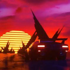 Star Citizen, Vaporwave Wallpaper, Space Artwork, Iphone Background Images, Cyberpunk City, Vaporwave Art, Pop Art Illustration, Night Aesthetic, Retro Waves
