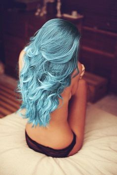 Want to add blue to my hair for World Arthritis Awareness Fay Oct 12th..just not sure it gutsy enough to do entire head or just section of hair.   guess we will seesoon enough