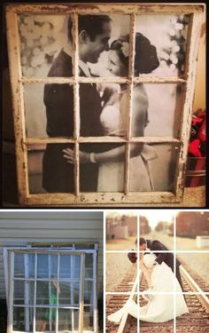 Old Window Picture Frame. Old Window Decor, Old Window Frames, Decorating With Window Frames, Decor With Old Windows, Window Frame Ideas, Frames On Wall, Old Window Art, Picture Frame Crafts, Door Picture Frame