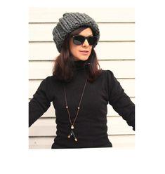 Grey Beanie, Alpaca Wool, Hand Knitting, Knitted Hats, Winter Hats, Handmade, Etsy, Fashion, Moda