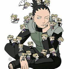 Is something bothering Shikamaru? Naruto Shippuden, Sarada Uchiha Manga, Naruto E Hinata, Pain Naruto, Naruto Funny, Gaara, Narusaku, Naruhina, Konoha Village