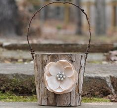 Rustic Flower Girl B