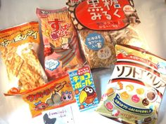$10 + $7 Airmail Shipping     Japanese Snack LOT C     Suppamucho Eclair Ika Fry Chocoball  Many  tastes! JPN