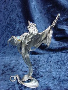 Small Wizard from the Magic Mist http://www.perthpewter.com/wizard-in-the-mist.html