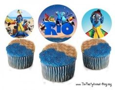 Free Rio the Movie Printables Rio Birthday Parties, Birthday Brunch, Mickey Birthday, Boy Birthday, Birthday Ideas, Birthday Stuff, Kids Party Themes, Party Activities, Party Ideas