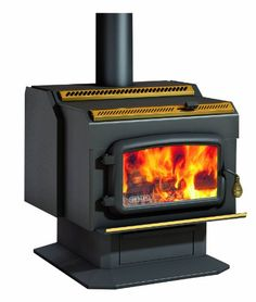 Drolet HighEfficiency Wood Stove  95000 BTU Model HT2000 -- You can get more details by clicking on the image.