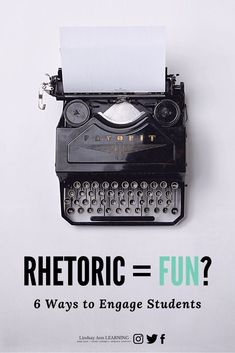 Rhetorical is used for, belonging to, or concerned with mere style or effect. It marked by or tending to use exaggerated language or bombast. High School Classroom, English Classroom, Poetry Lesson Plans, Poetry Lessons, Teaching Strategies, Teaching Tips, Teaching Reading, Persuasive Writing, Academic Writing