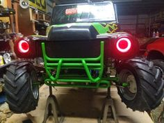 Converting 24v Grave Digger Power Wheels Into an Electric Go-kart With Rubber Tires : 11 Steps (with Pictures) - Instructables Power Wheel Cars, Kids Power Wheels, Brake Rotors, Brake Calipers, Triumph Motorcycles, Custom Motorcycles, Grave Digger Power Wheels, Electric Go Kart, Electric Cars