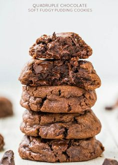 Pinterest Fun Fridays on Foster: Quadruple Chocolate Fudgy Pudding Cookies | Her Campus BC