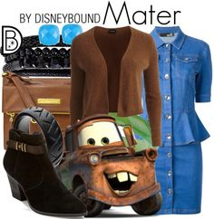 Mater never looked better than in this outfit | Disney Fashion | Disney Fashion Outfits | Disney Outfits | Disney Outfits Ideas | Disneybound Outfits |